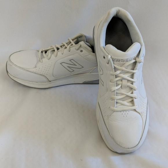New balance 928 White walking shoe men's gym shoe